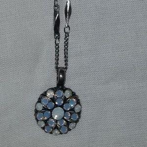 Mariana Angel Necklace with Swarovski Crystals